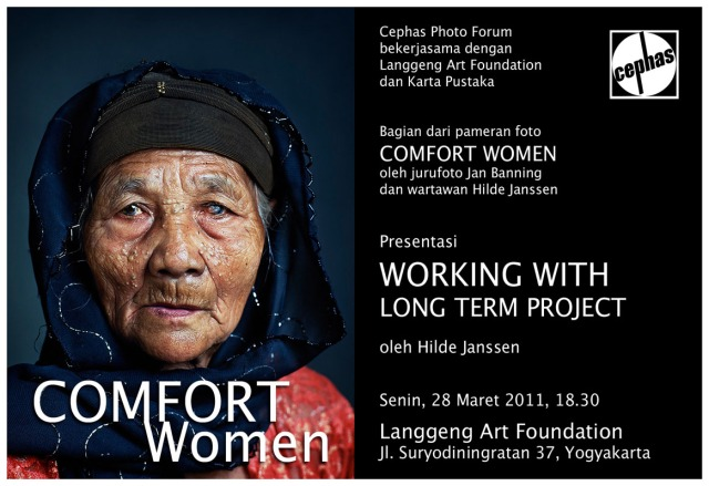 Comfort Women invitation